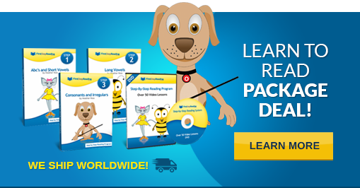 Learn To Read Package Deal Banner
